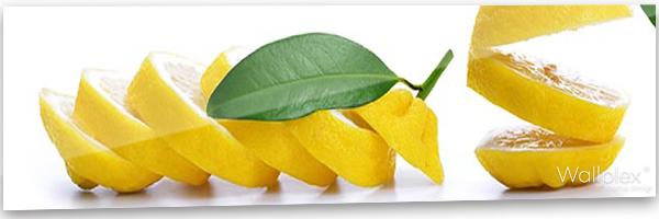 konyhai fali panel citrom