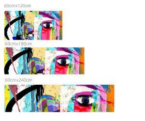 Wallplex color eye