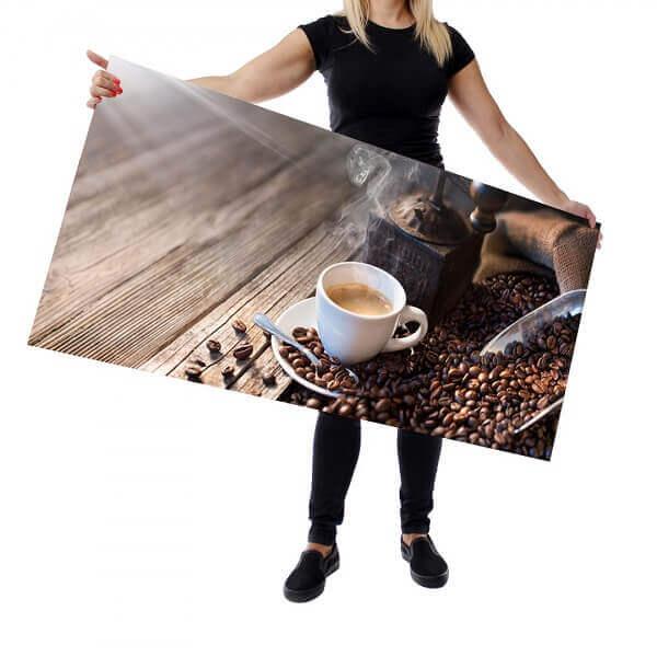 konyhapanel kávé