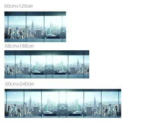 Mérettábla városi kilátás
