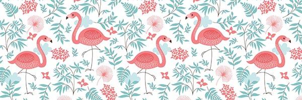 flamingok konyhapanel