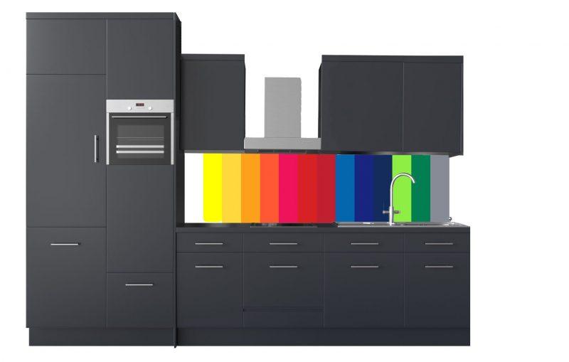 Egyszínű konyhapanelek termék kép