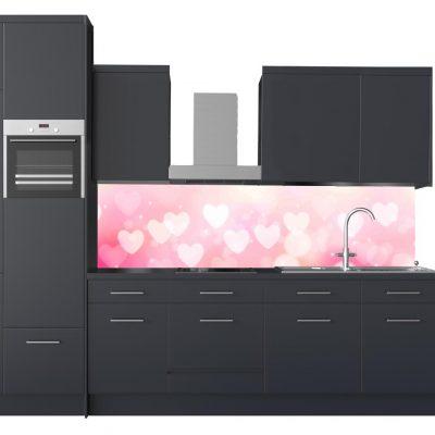 minta konyha pink szívek