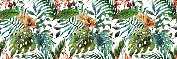 tropical konyhapanel