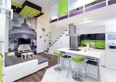 lime színű konyhapanel