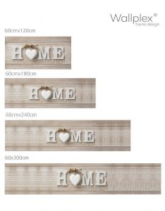 Wallplex Home wood