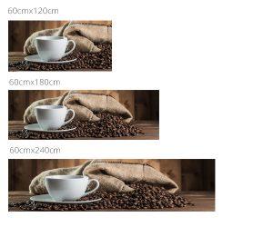 kávéscsésze mérettábla