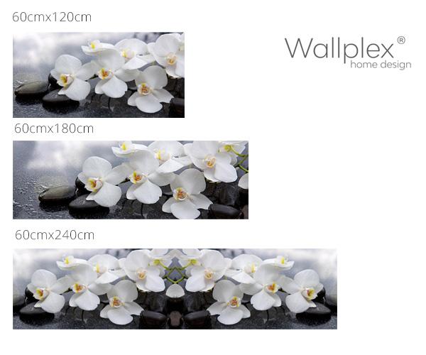 Mérettábla orchidea
