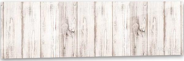 konyhai fali panel fehér deszka