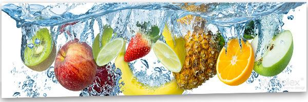 konyhai fali panel gyümölcsök