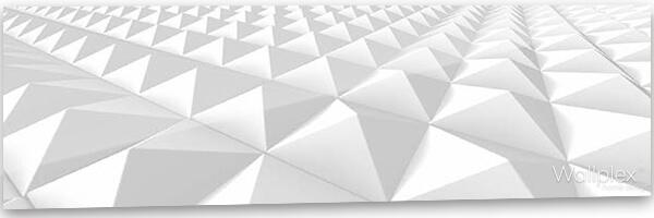 konyhai fali panel geometrikus minta