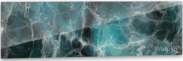 konyhai fali panel kék ásvány