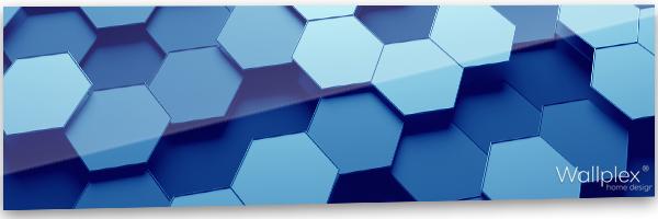konyhai fali panerl hexagon minta