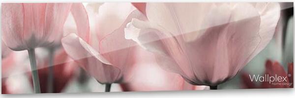 pink garden konyhapanel