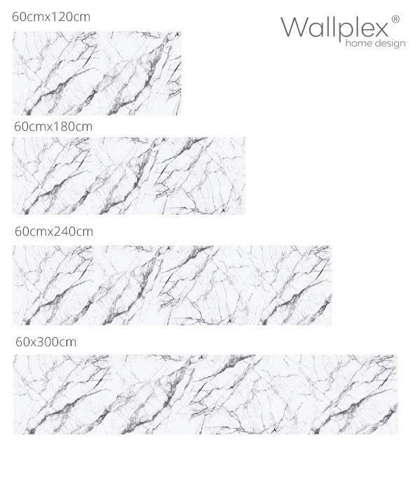 fehér márvány konyhahátfal