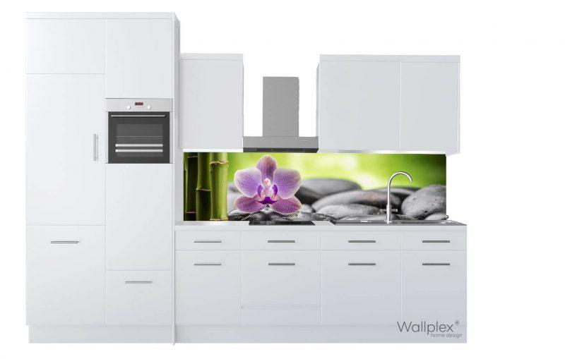 wallplex konyhapanel Zen termékkép fehér