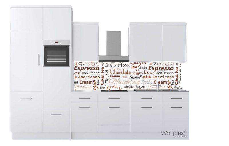 wallplex konyhapanel cafe latte termékkép
