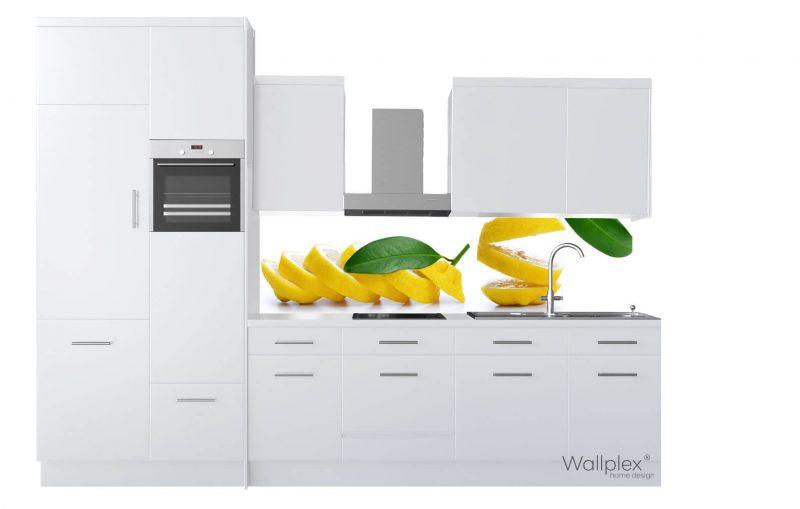 wallplex konyhapanel citrom termékkép