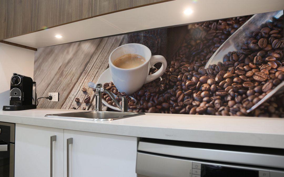 kávé konyhpanel
