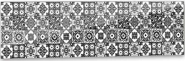 fekete mozaik termékkép