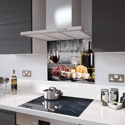 3dbos wallplex konyhapanel bor és sajt