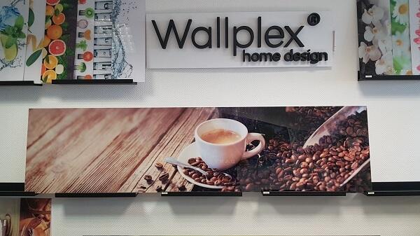 Wallplex konyhapaneé kávé 240