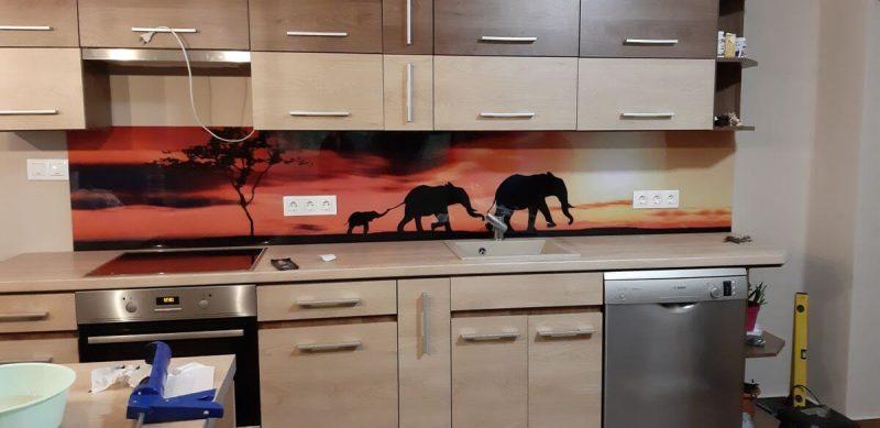 konyhapanel safari