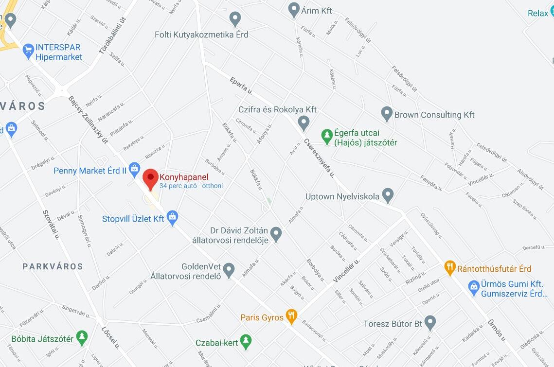 wallplex térkép