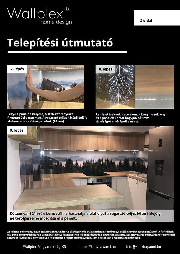 wallplex telepítési útmutató